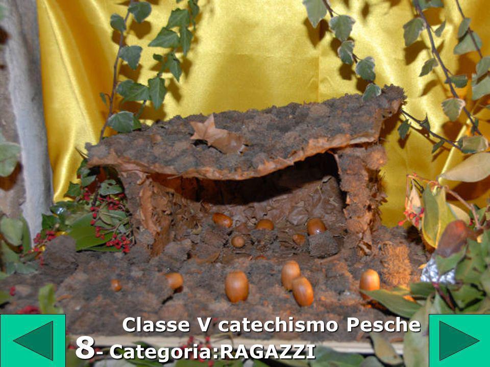 Classe V catechismo Pesche