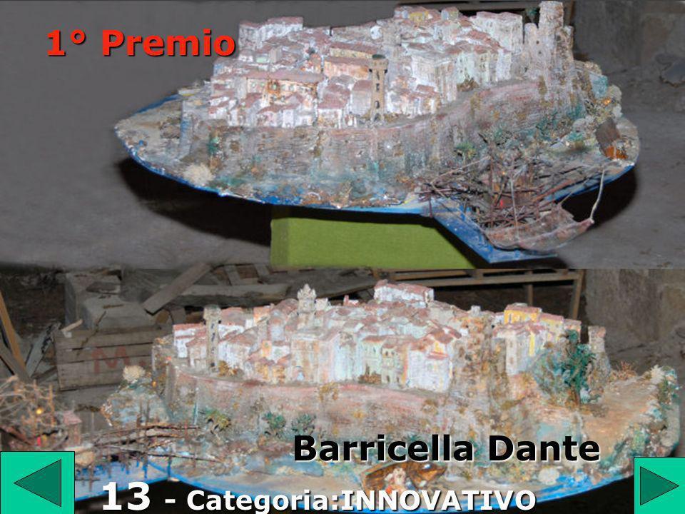1° Premio 13 Barricella Dante 13 - Categoria:INNOVATIVO