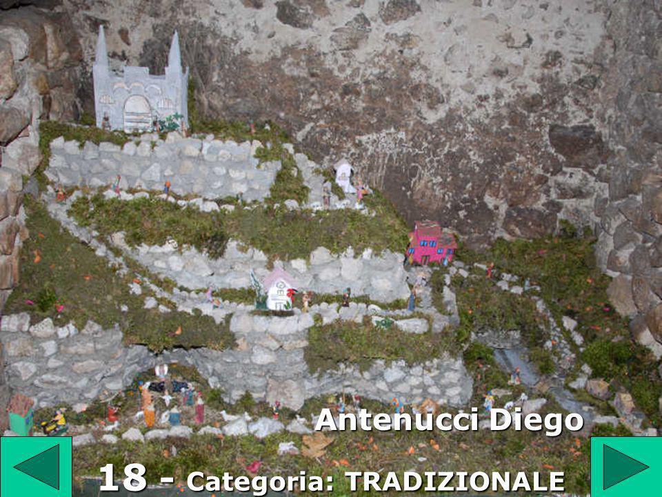 18 Antenucci Diego 18 - Categoria: TRADIZIONALE