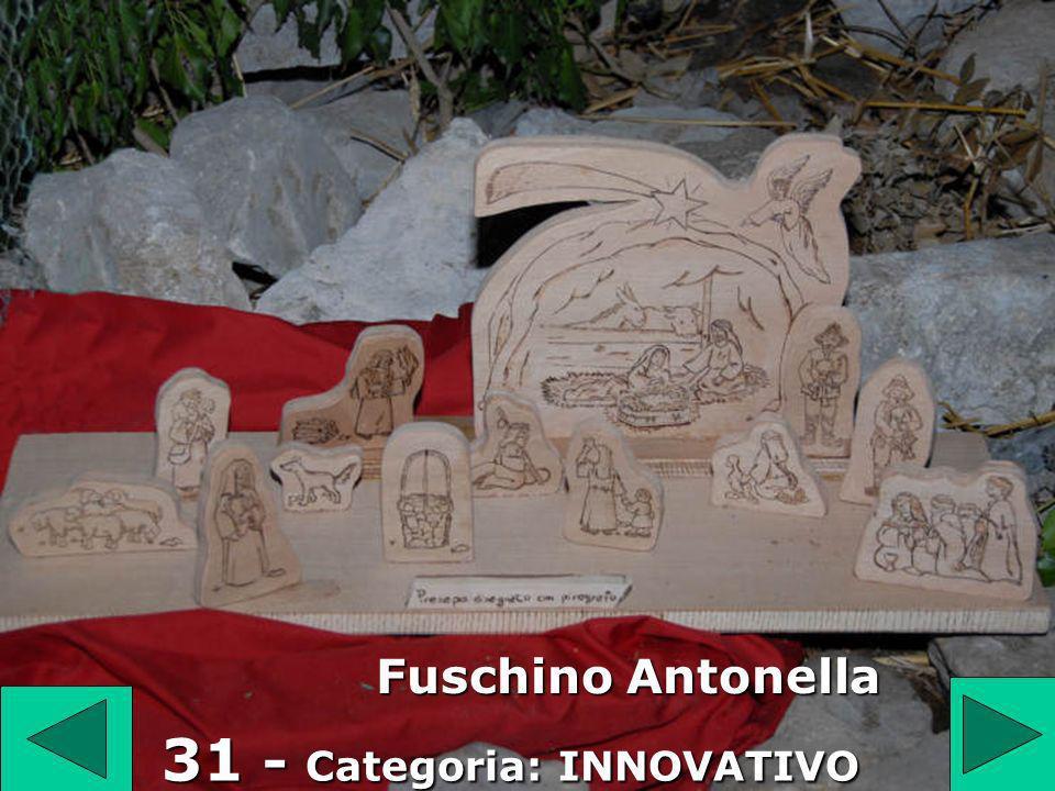 31 Fuschino Antonella 31 - Categoria: INNOVATIVO