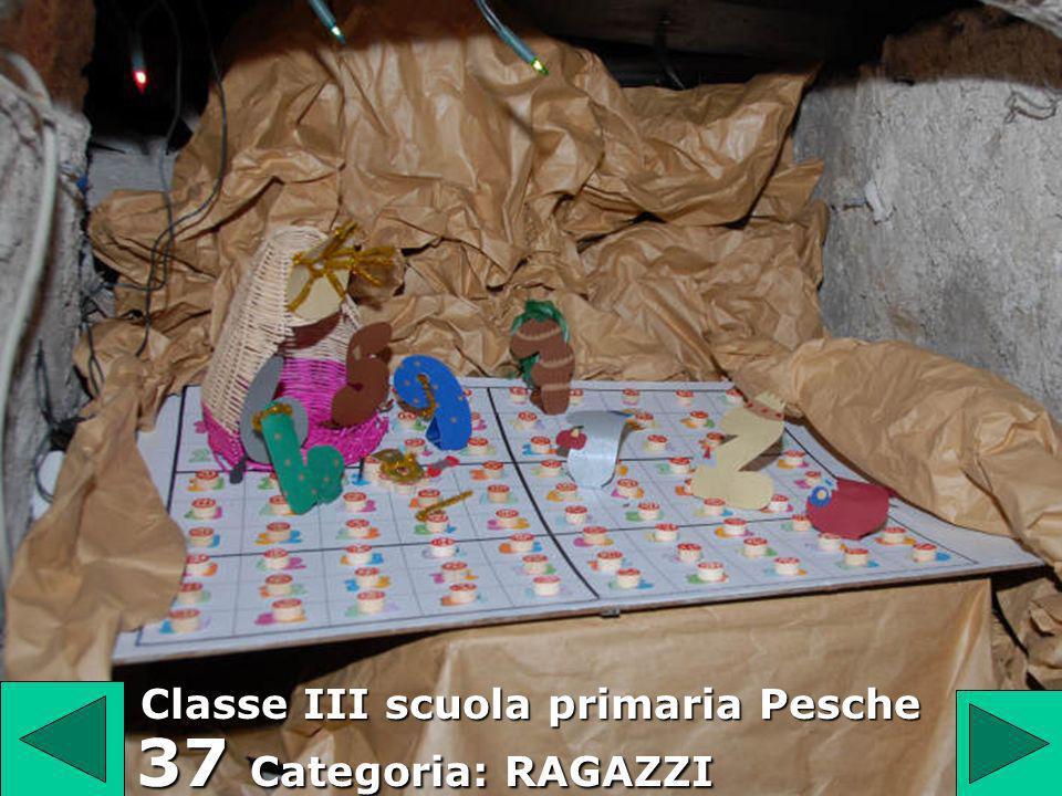 Classe III scuola primaria Pesche