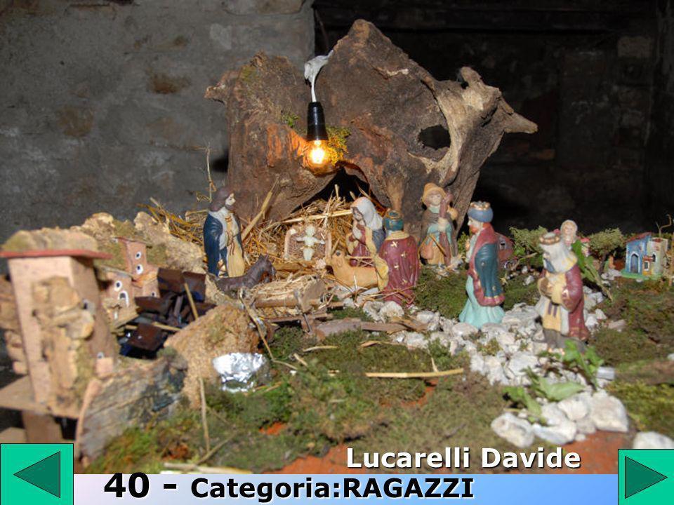 40 Lucarelli Davide 40 - Categoria:RAGAZZI