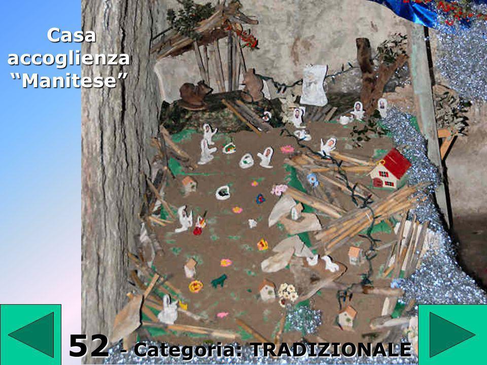 Casa accoglienza Manitese 52 - Categoria: TRADIZIONALE