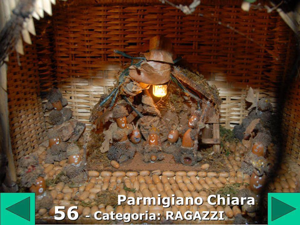 56 Parmigiano Chiara 56 - Categoria: RAGAZZI