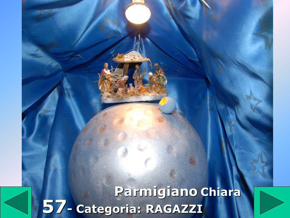 57 Parmigiano Chiara 57- Categoria: RAGAZZI
