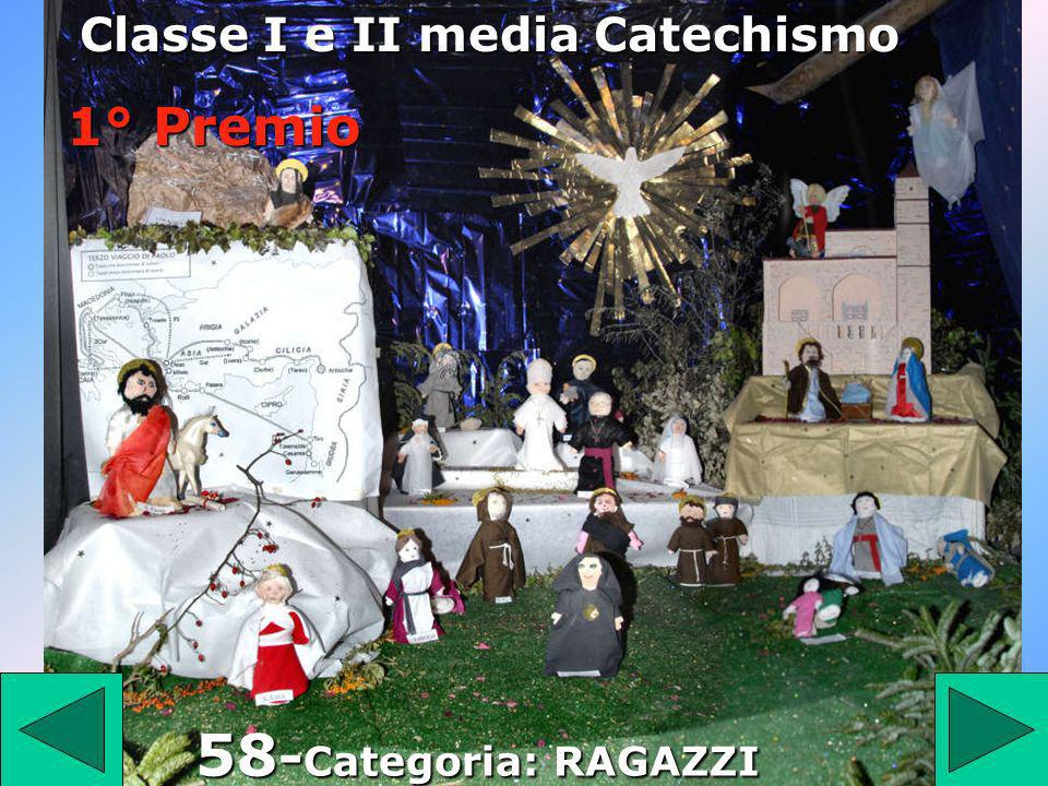 Classe I e II media Catechismo