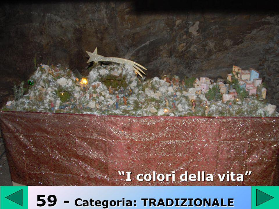 59 I colori della vita 59 - Categoria: TRADIZIONALE