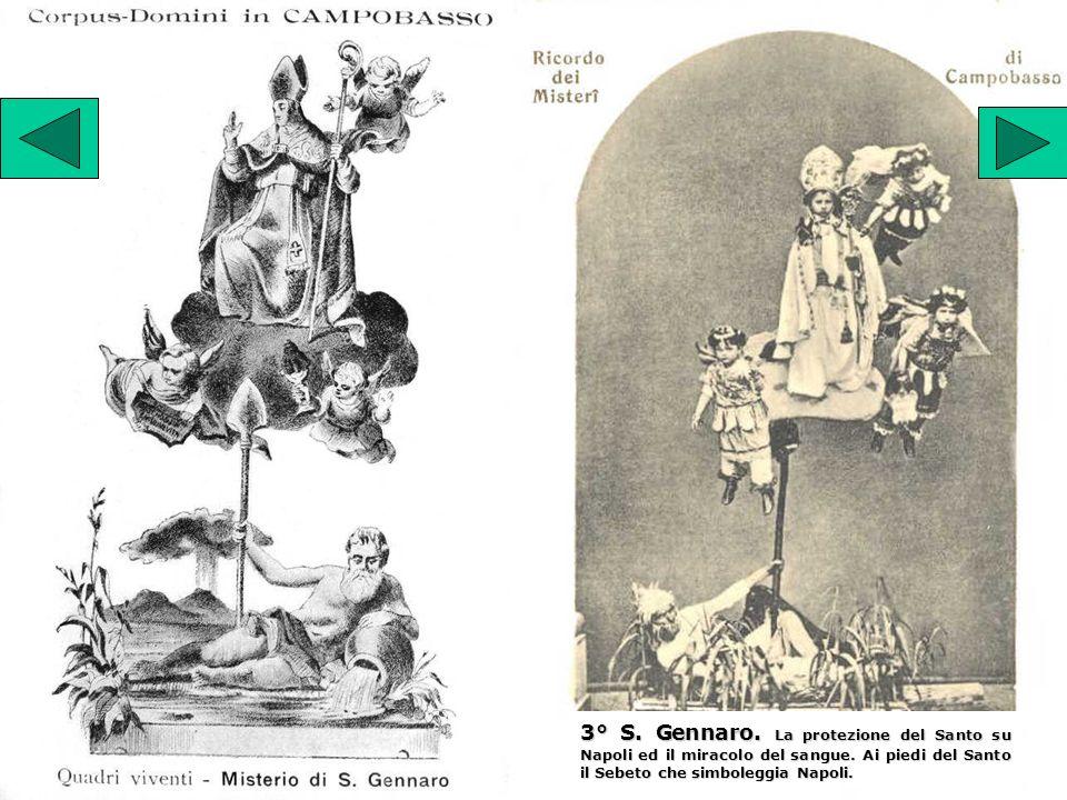 3° S. Gennaro. La protezione del Santo su Napoli ed il miracolo del sangue.