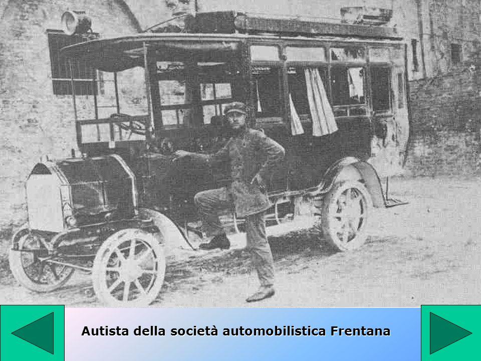 Autista della società automobilistica Frentana
