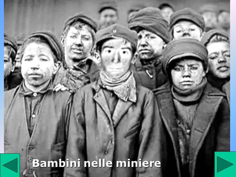Bambini nelle miniere