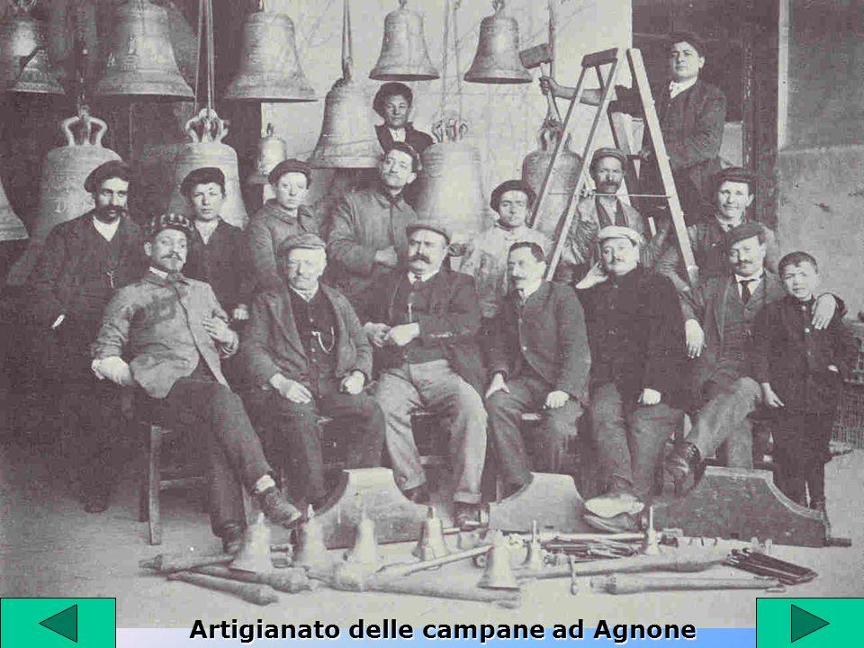 Artigianato delle campane ad Agnone