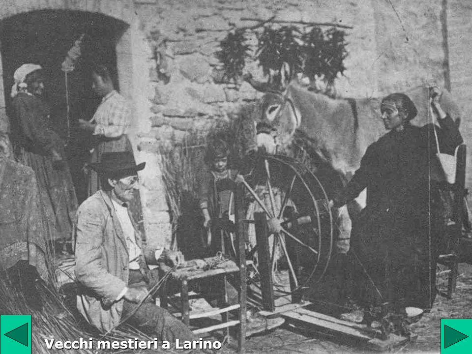 Vecchi mestieri a Larino