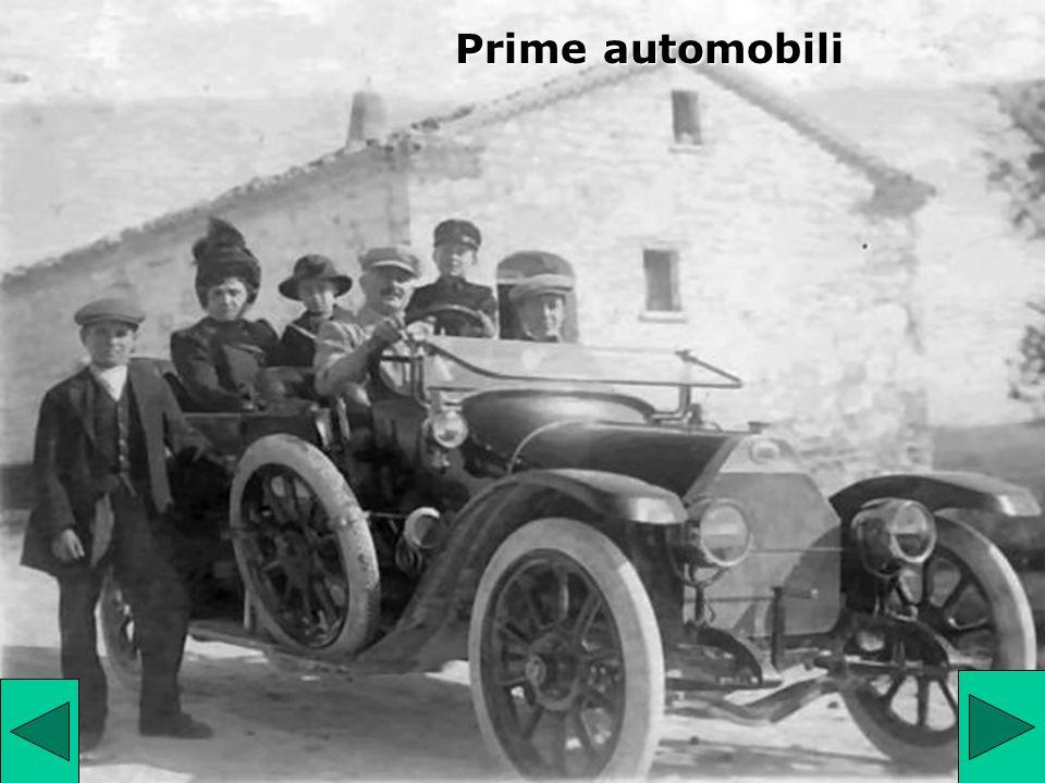 Prime automobili