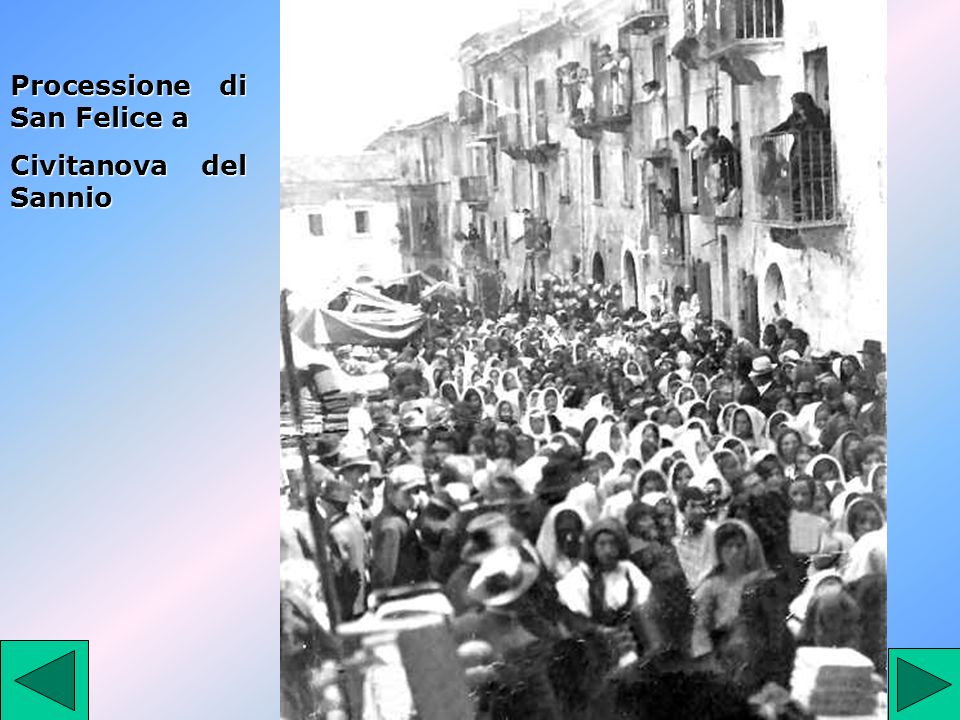 Processione di San Felice a