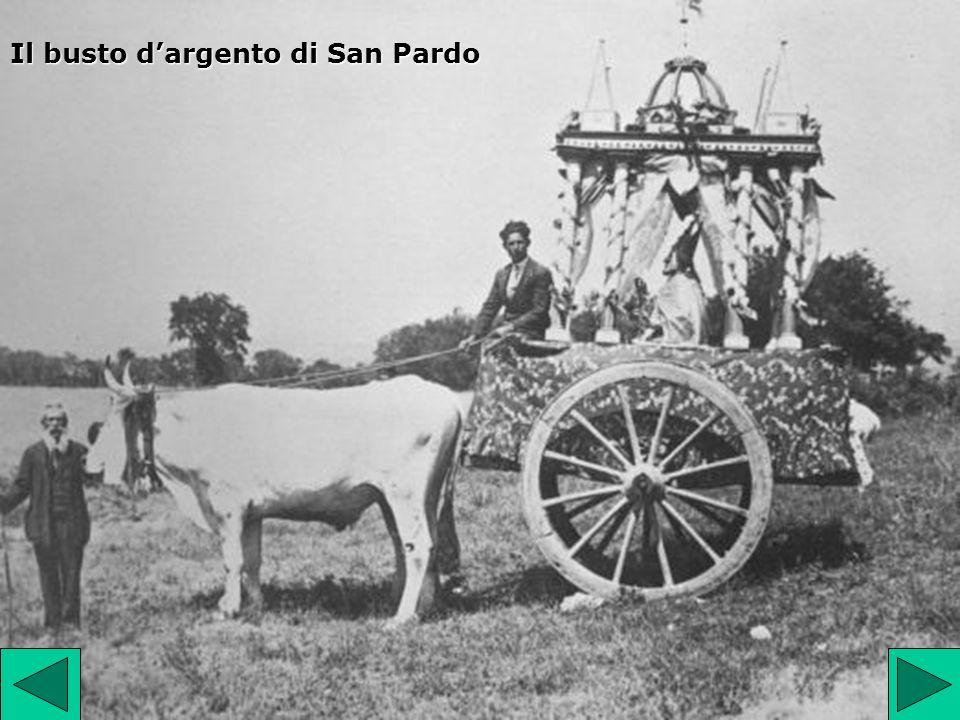 Il busto d'argento di San Pardo