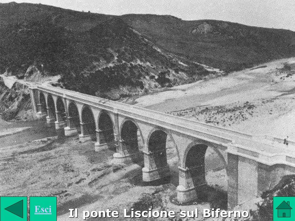 Il ponte Liscione sul Biferno