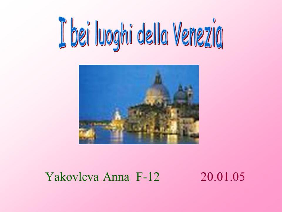 I bei luoghi della Venezia
