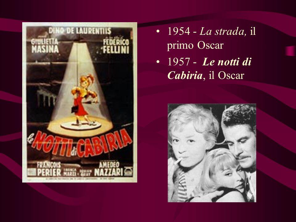 1954 - La strada, il primo Oscar