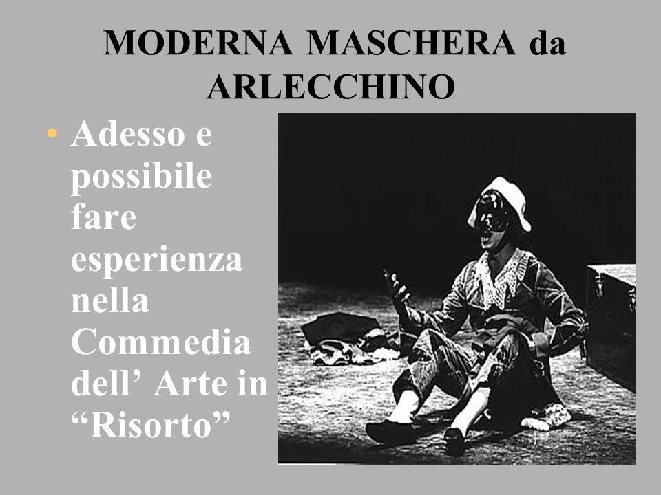 MODERNA MASCHERA da ARLECCHINO