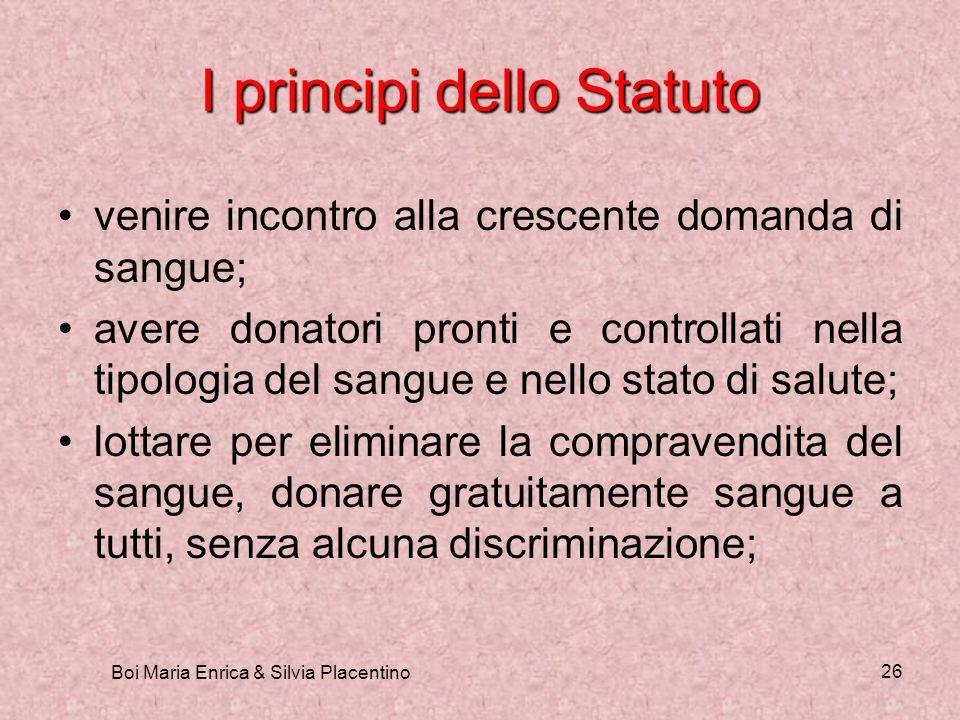 I principi dello Statuto