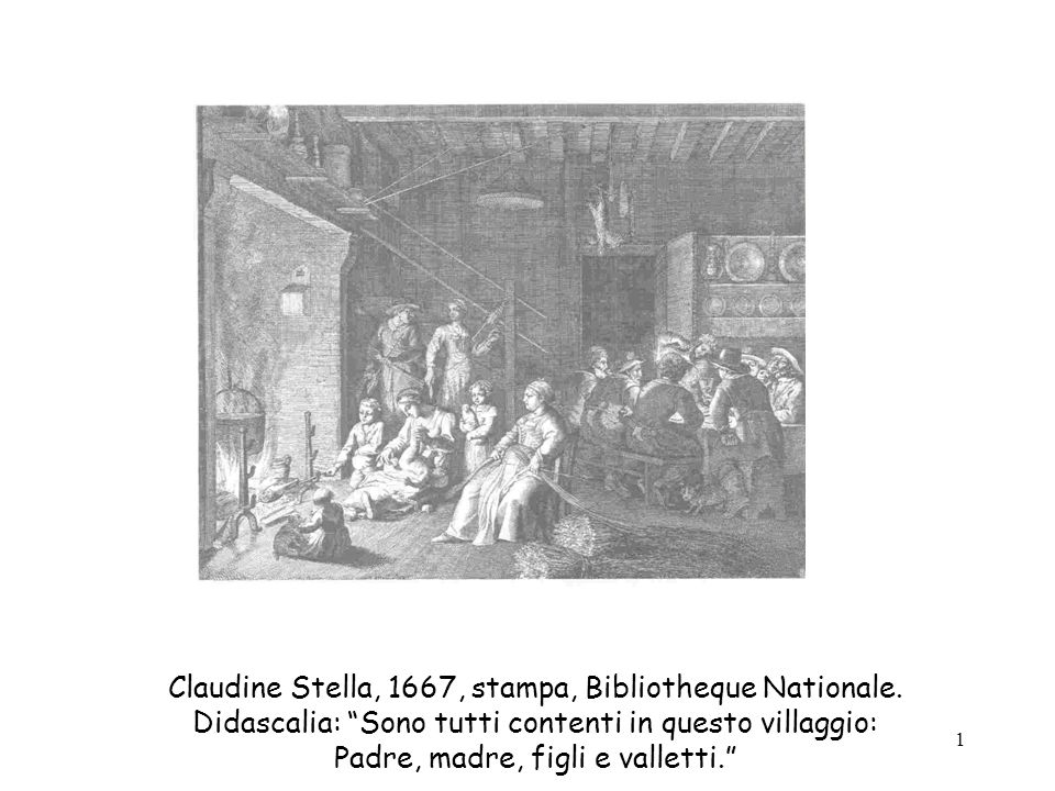 Claudine Stella, 1667, stampa, Bibliotheque Nationale.