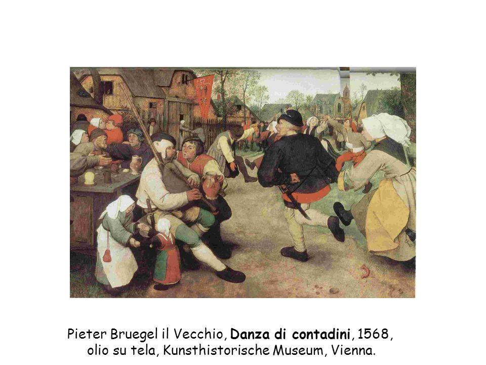 Pieter Bruegel il Vecchio, Danza di contadini, 1568,