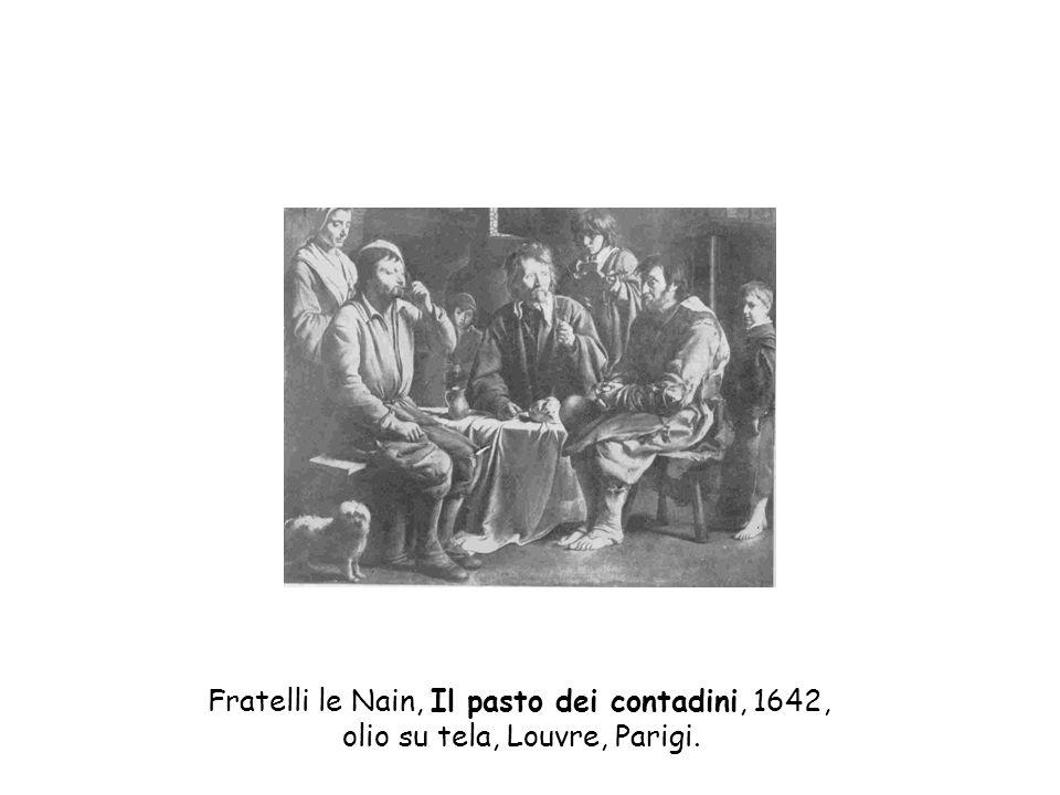Fratelli le Nain, Il pasto dei contadini, 1642,