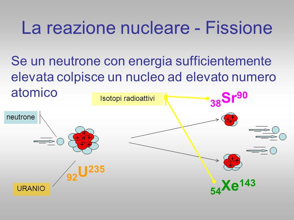 La reazione nucleare - Fissione