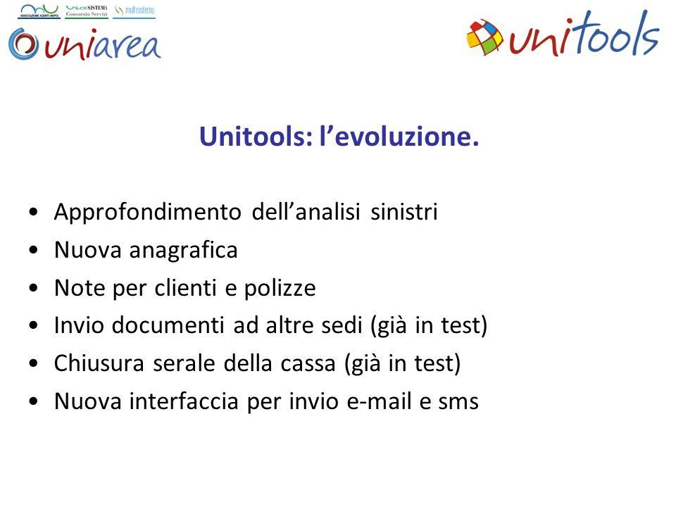 Unitools: l'evoluzione.