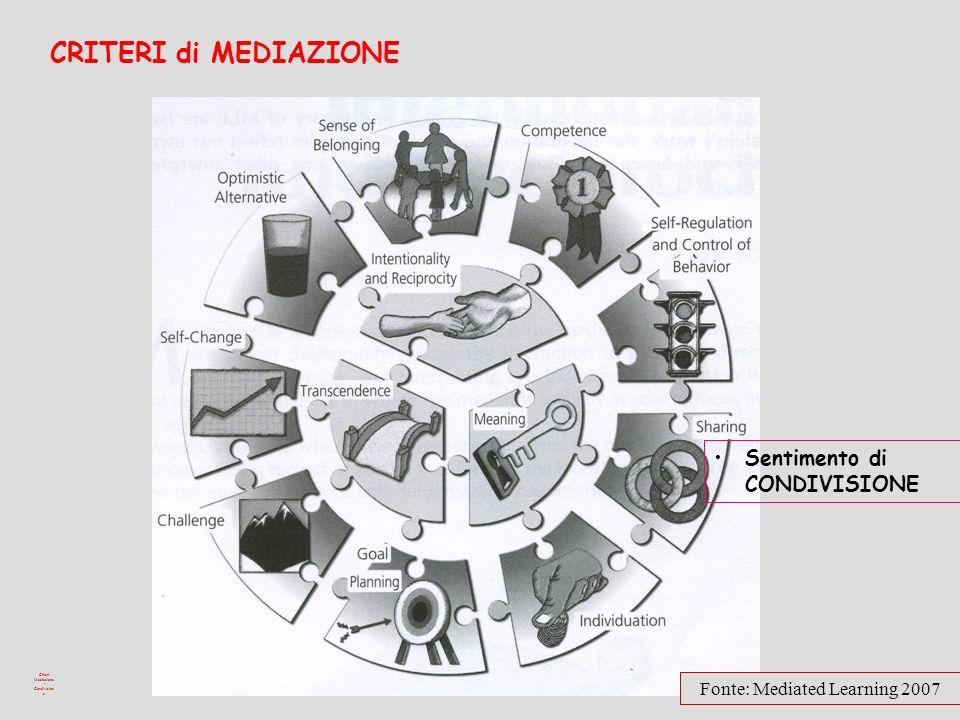 Criteri Mediazione - Condivisione