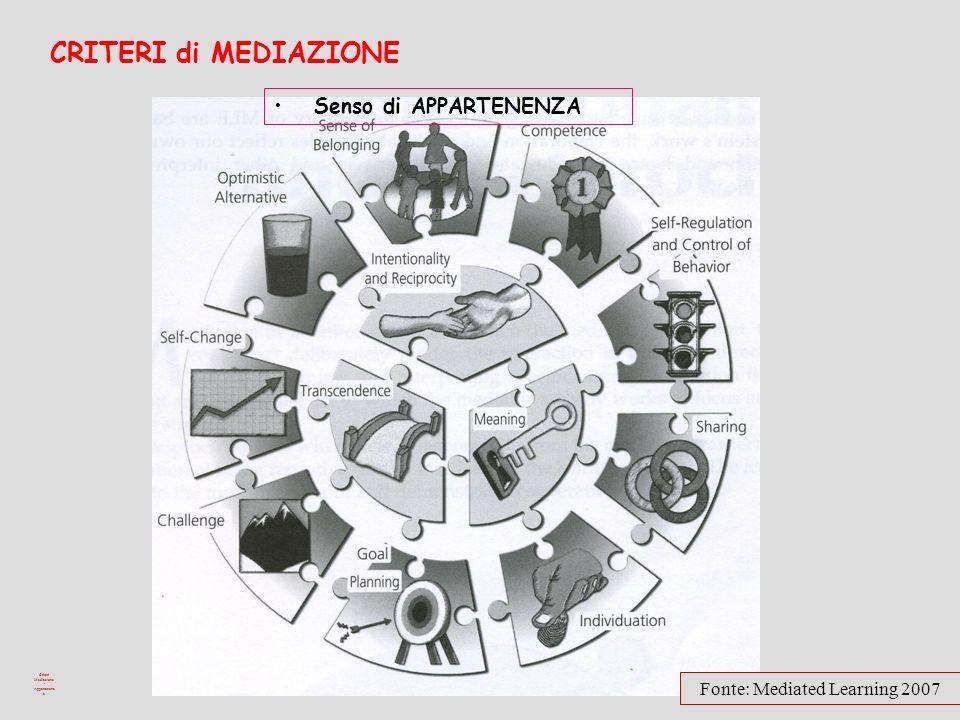 Criteri Mediazione - Appartenenza