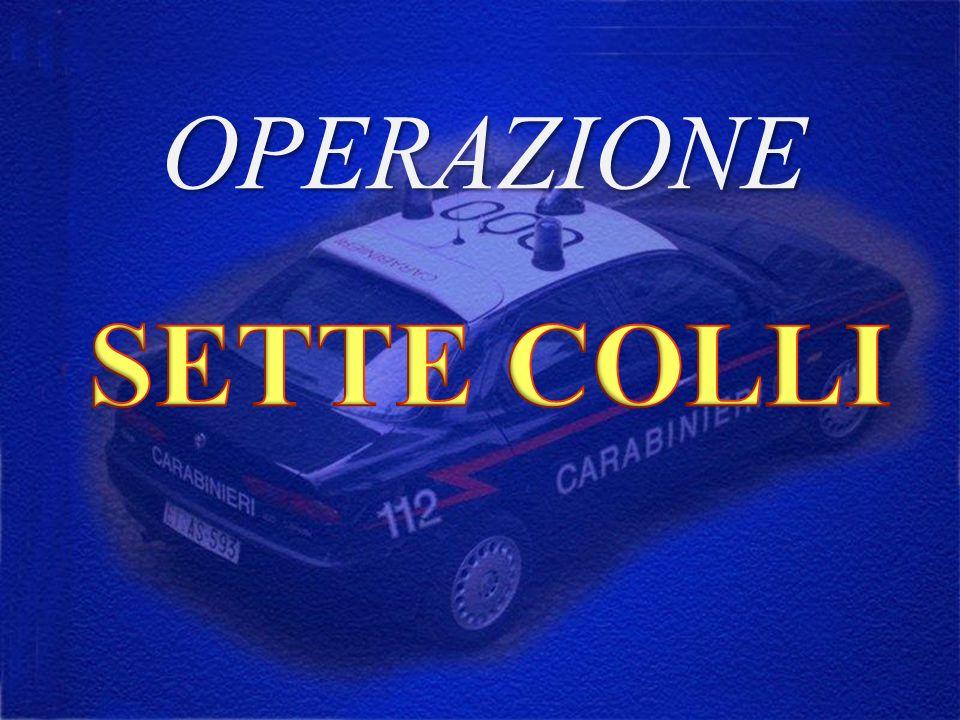 OPERAZIONE SETTE COLLI