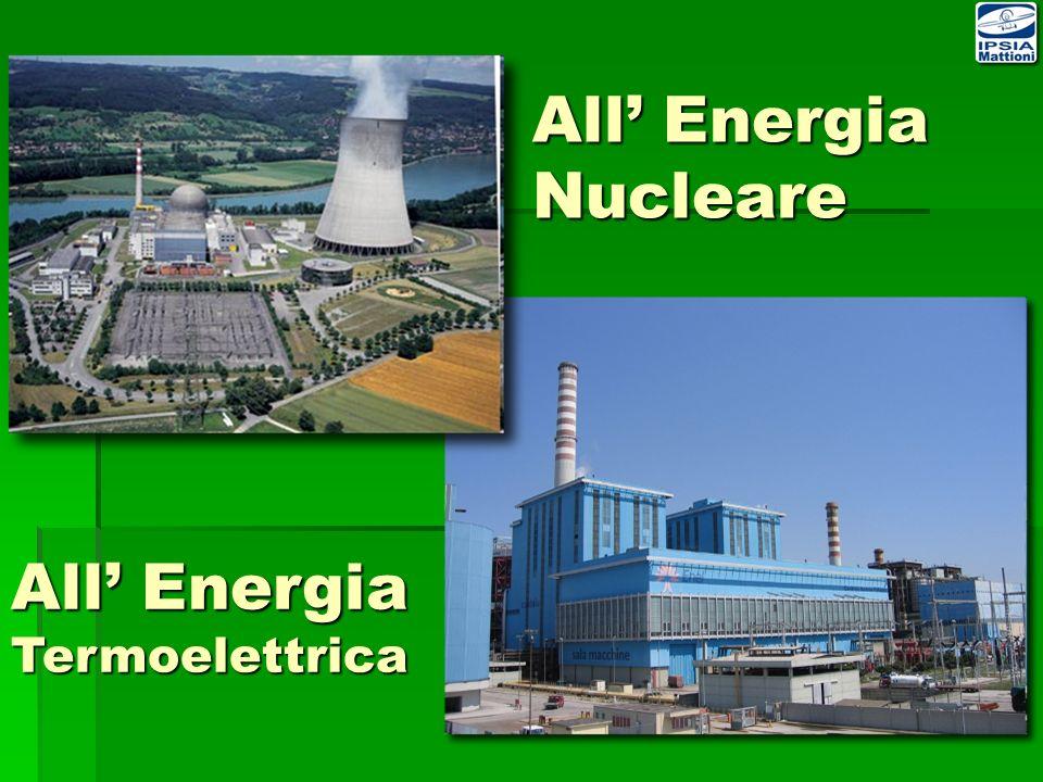 All' Energia Nucleare All' Energia Termoelettrica
