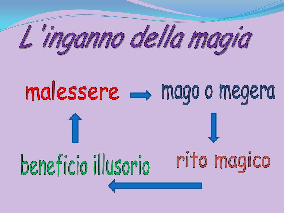 L inganno della magia malessere mago o megera rito magico beneficio illusorio
