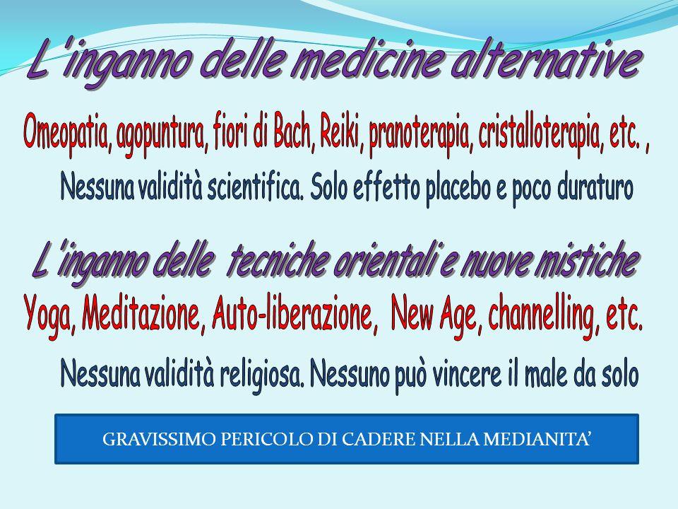 L inganno delle medicine alternative