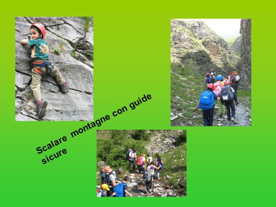 Scalare montagne con guide sicure