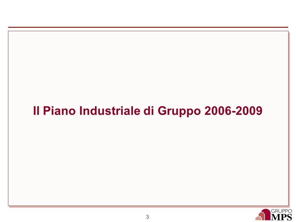 Il Piano Industriale di Gruppo 2006-2009