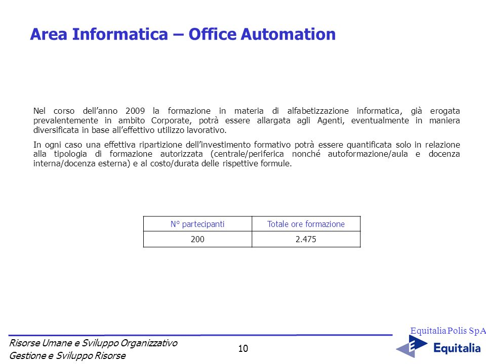 Varie - Percorsi specifici di aggiornamento professionale