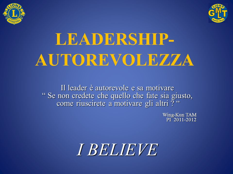 LEADERSHIP-AUTOREVOLEZZA