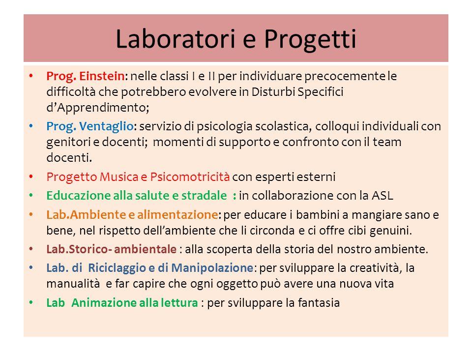 Laboratori e Progetti