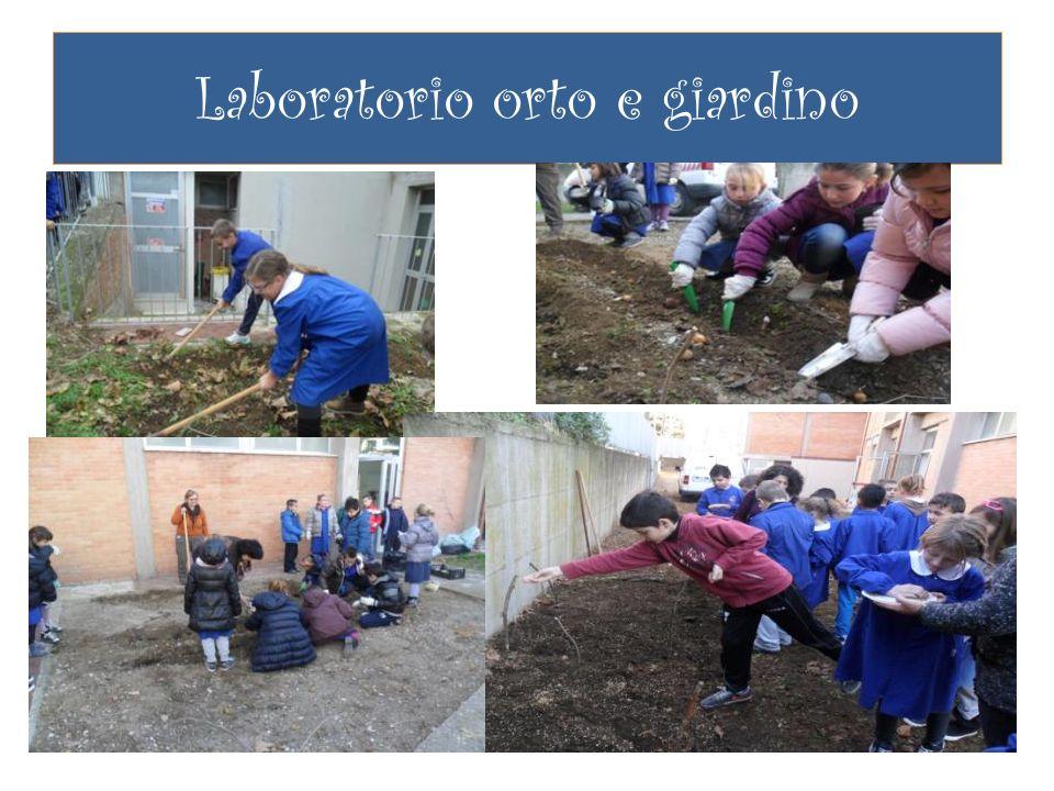Laboratorio orto e giardino