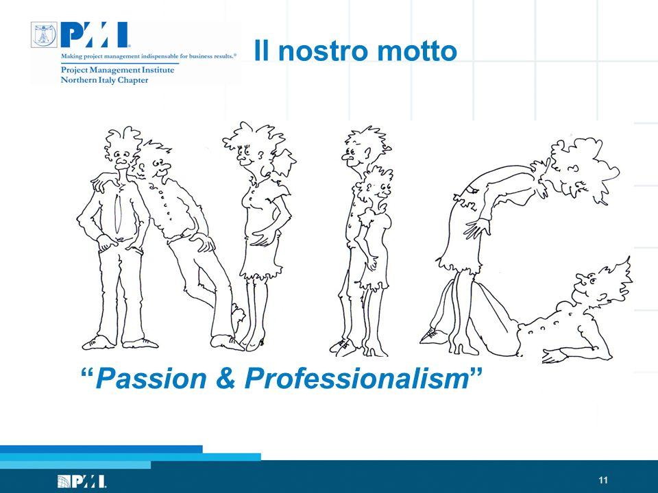 Il nostro motto Passion & Professionalism