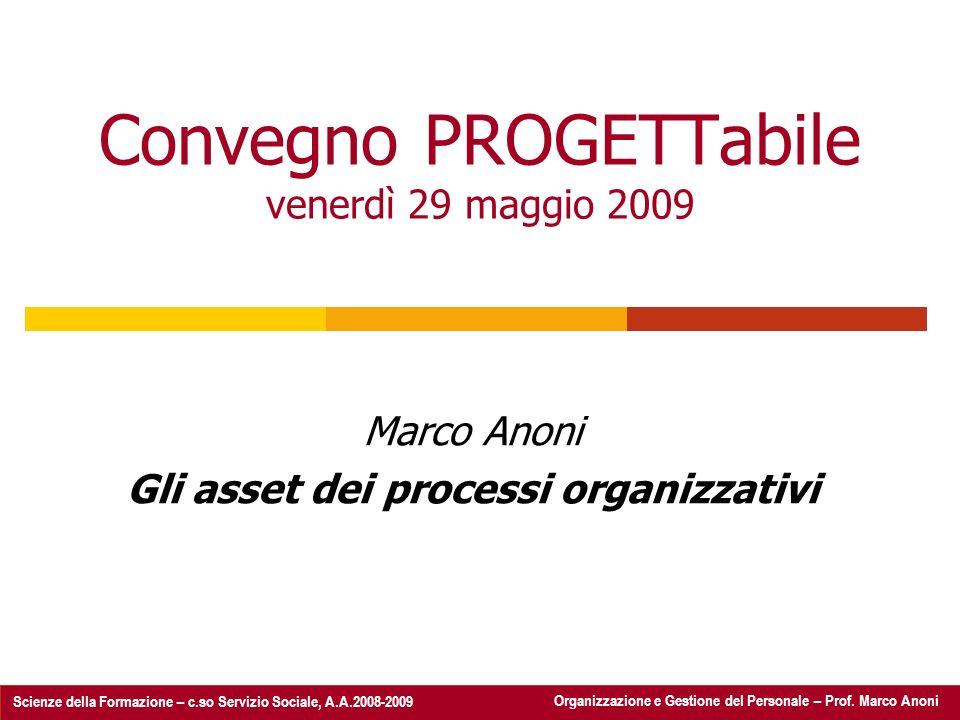 Convegno PROGETTabile venerdì 29 maggio 2009