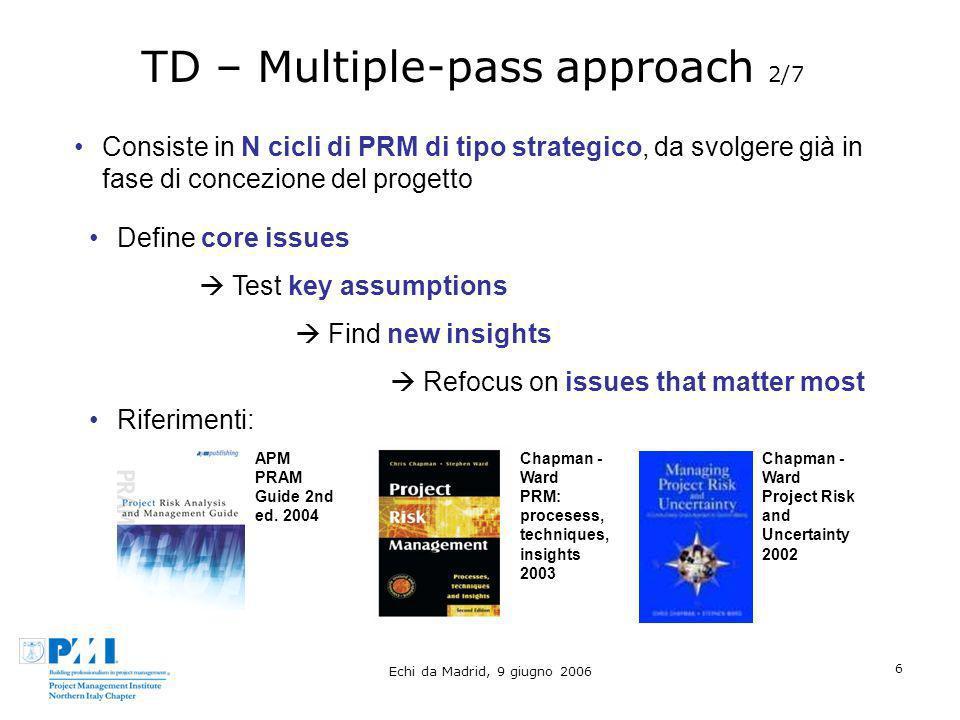 TD – Multiple-pass approach 2/7