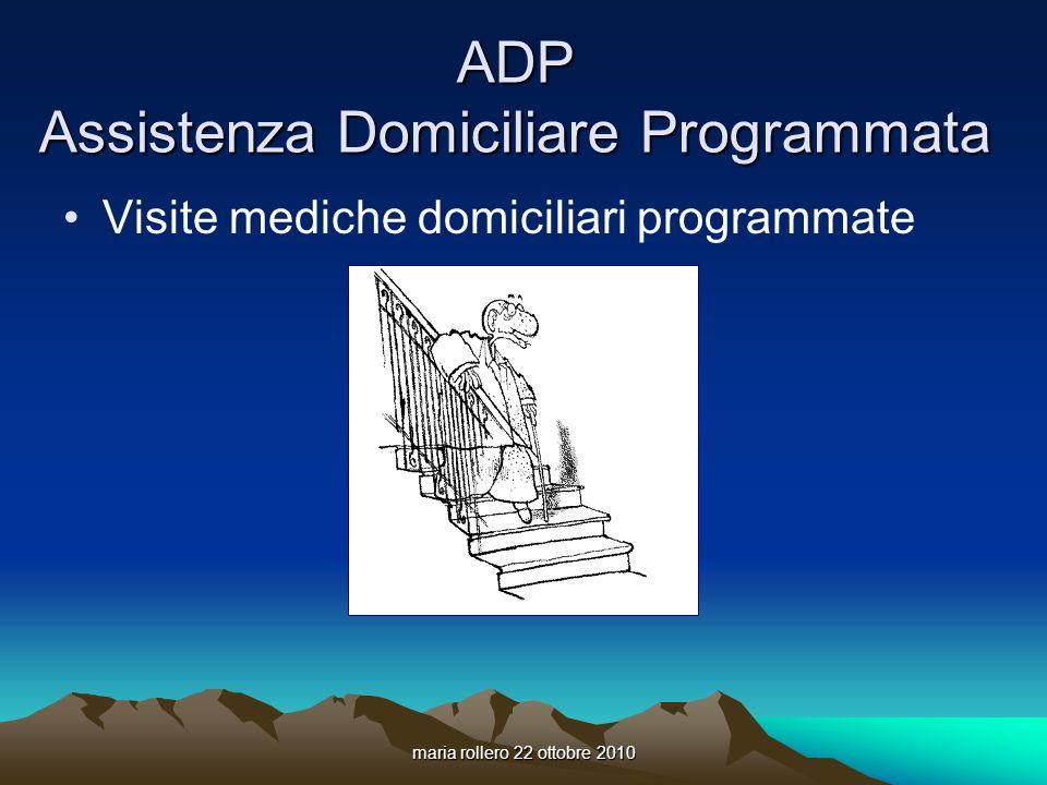 ADP Assistenza Domiciliare Programmata