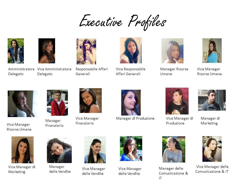 Executive Profiles Amministratore Delegato