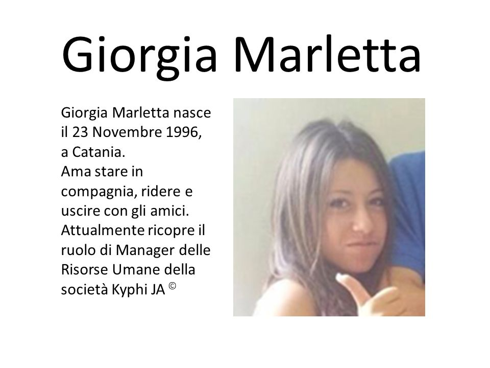 Giorgia Marletta
