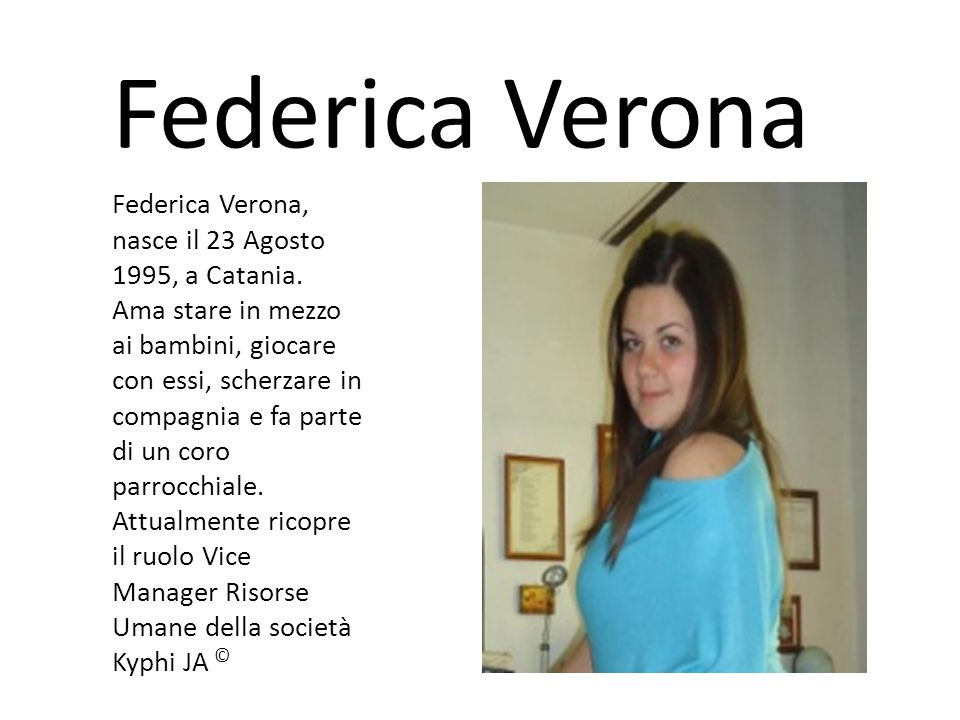 Federica Verona