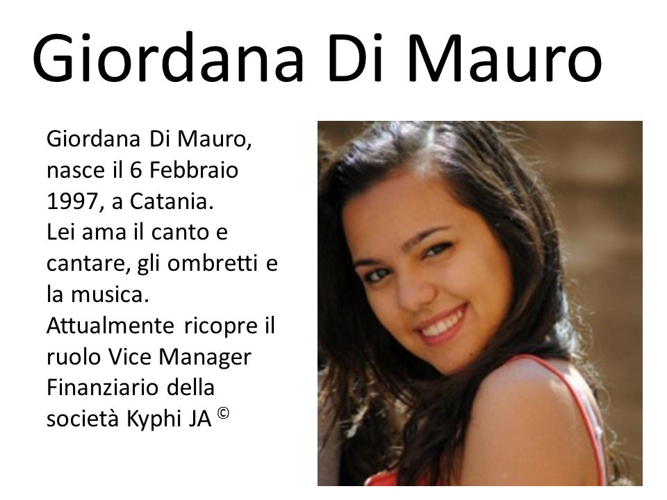 Giordana Di Mauro