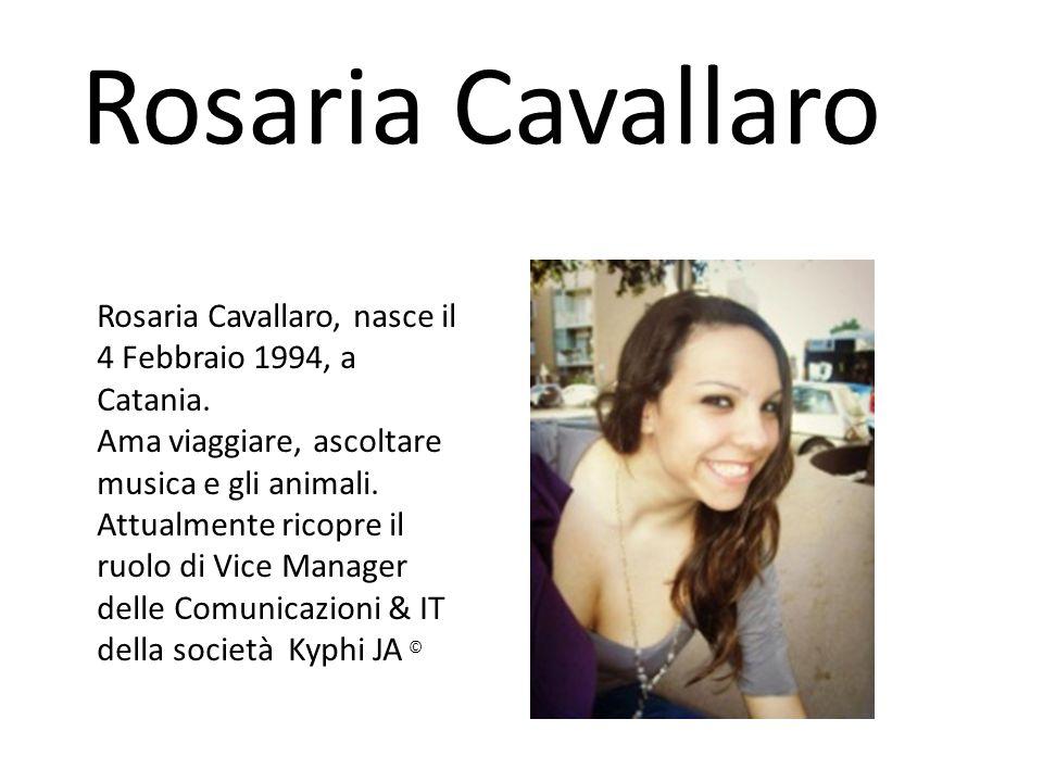 Rosaria Cavallaro